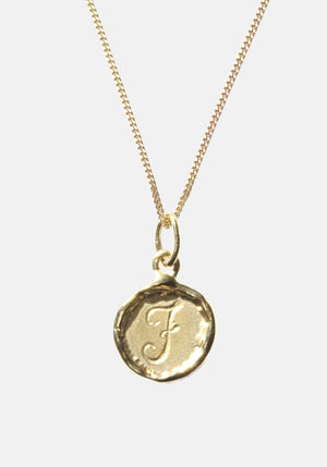 Your Initial J Necklace 9ct Yellow Gold