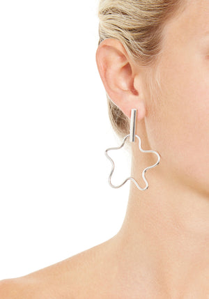 Large Squiggle Earrings