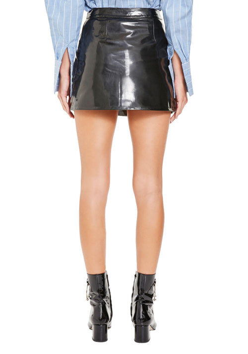 Esso Patent Leather Skirt