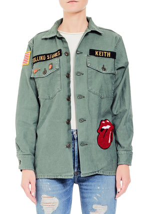 Rolling Stones Patch Jacket