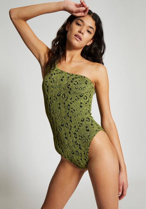 Nancy Swim Moss Leopard