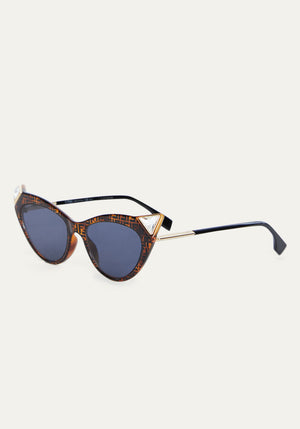 Iridia 356 Cat Eye Sunglasses Havana