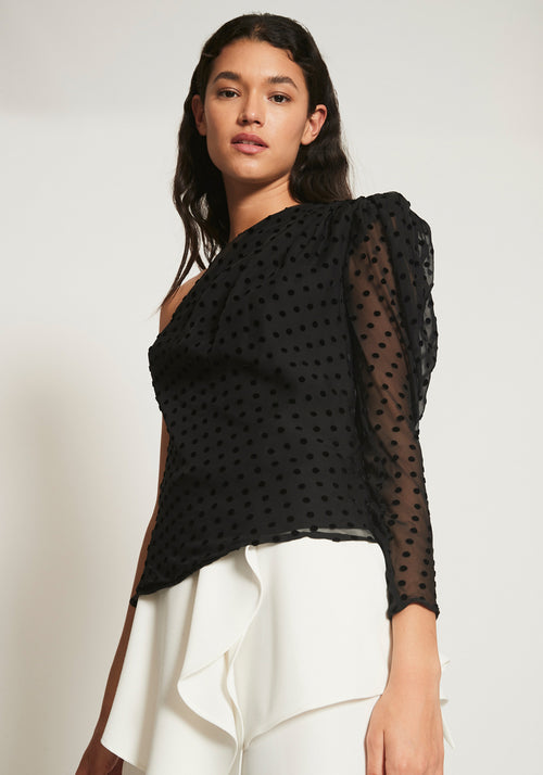 Coalti Top Black