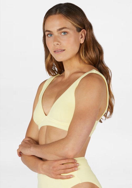 Plunge Top Lemon Terry
