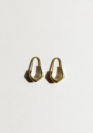 Billie Earrings Gold