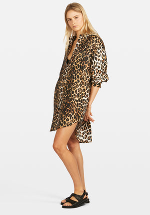 Shirt Dress Cheetah