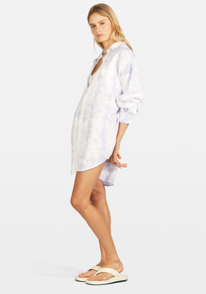 Shirt Dress Tye Dye