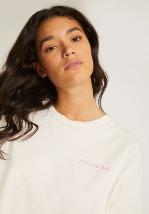 K-SUB-EE SS Tee Barely Blush
