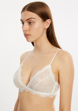 Lace Bra With Trim