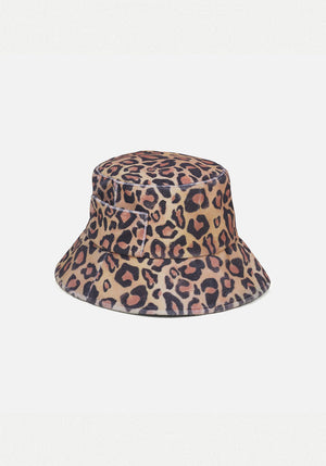 Wave Bucket Hat Leopard