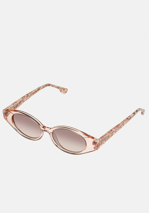 Le Ovoid Sunglasses Blush