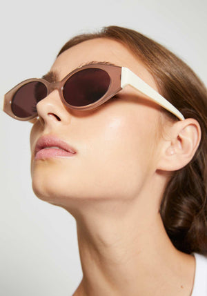Le Ovoid Sunglasses Moonrock