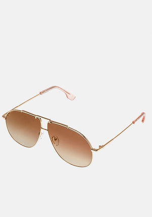 Le Pear Sunglasses Bright Gold