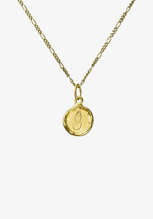 Your Initial G Necklace 9CT Gold