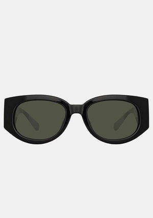 Debbie D-Frame Sunglasses Black