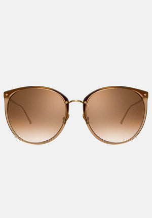 Kings C20 Oversized Sunglasses Tabacco