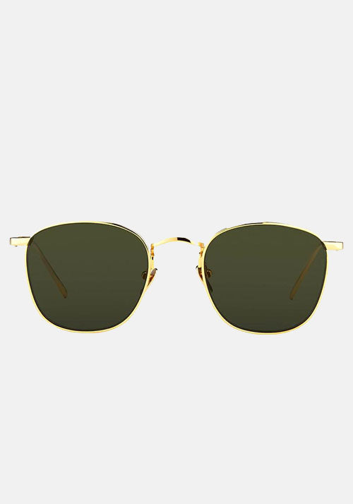 Simon C5 Square Sunglasses Gold