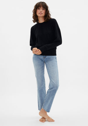 Arutua Cashmere Sweater Black