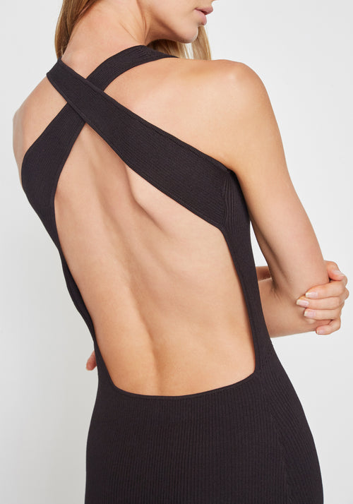 Marcelle Open Back Maxi Dress