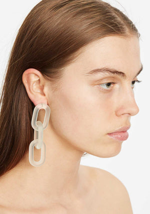 Marcia Earrings Clear