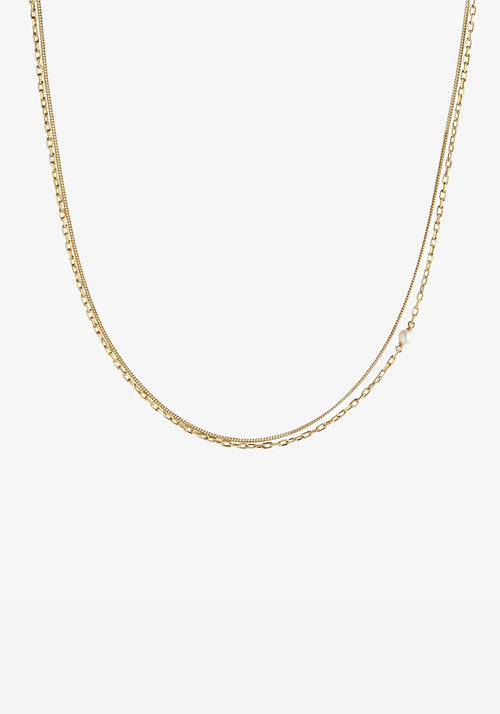 Cantare Necklace Gold