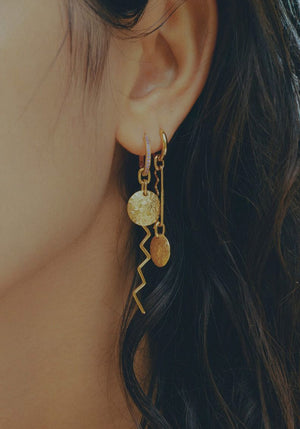 Australian Exclusive | Moneta Earring Gold