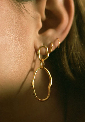 Pond Earring Gold