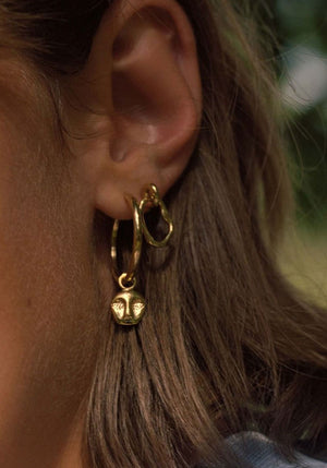 RAY EARRING GOLD