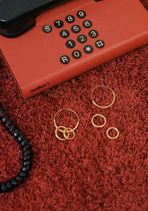Serendipity Small Hoop Earring Gold