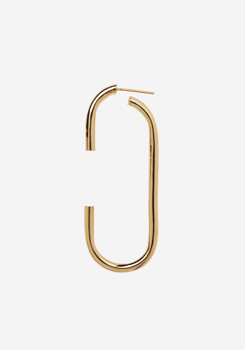 Vertical Earring Gold