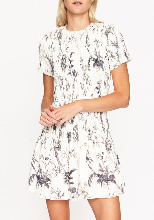 Mariele Ruched Tee Mini Dress