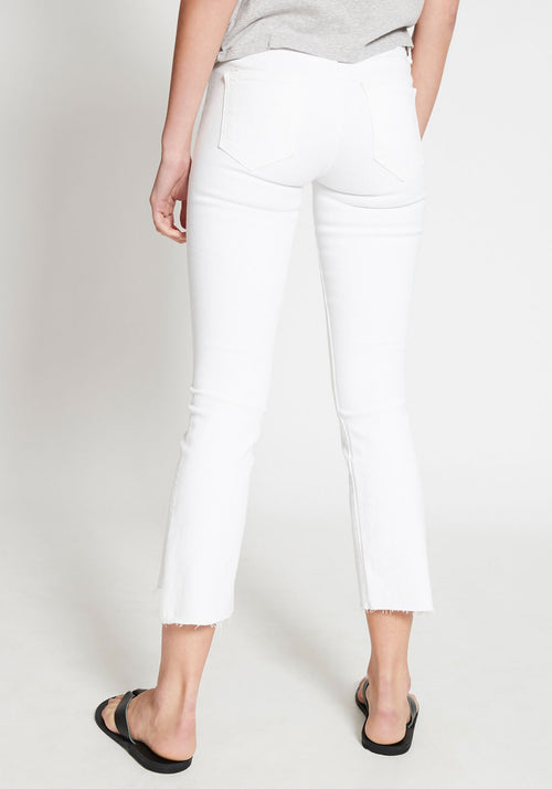 Insider Crop Step Fray Jeans Fairest Of Them
