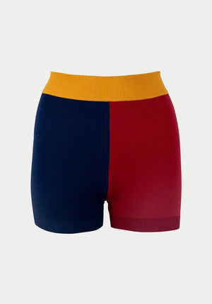 Yoni Short Navy/Rouge
