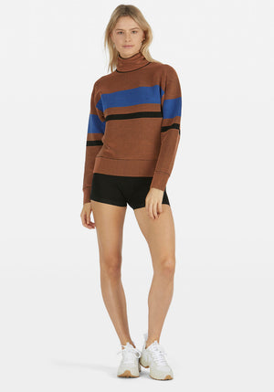 Retro Rib Sweater Bronze