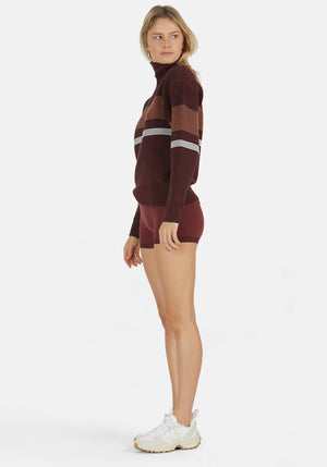 Yoni Short Burgundy