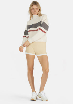Yoni Short Sandstone/Cream