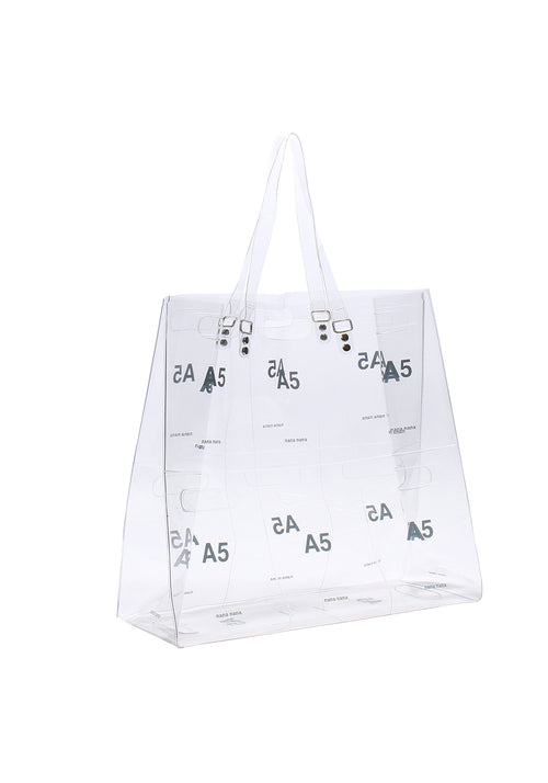 A5 Panel Bag Clear