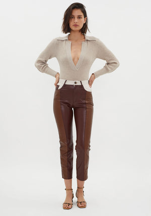 Vinni Pants Brown Patch
