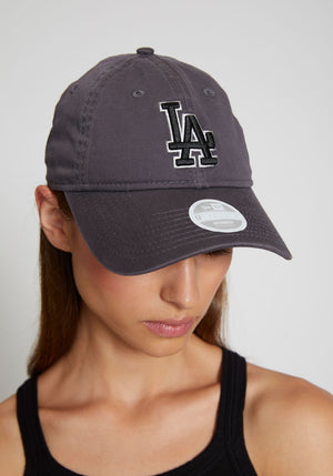 LA 9Twenty Cap Grey Graphite/Black