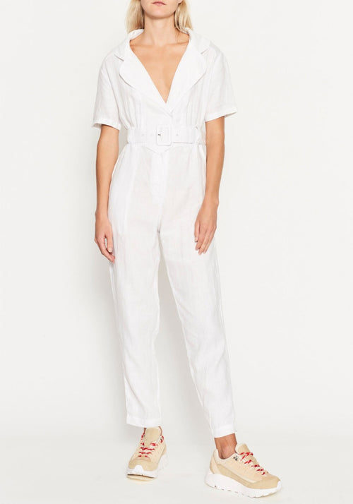 NOEME JUMPSUIT WHITE