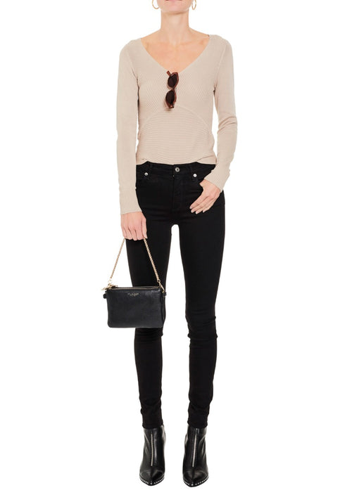 Ophelia Fine V- Neck Knit