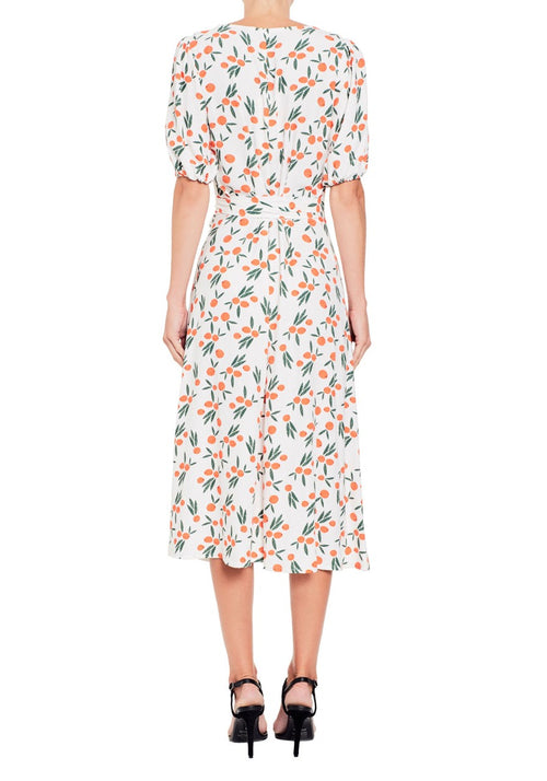 Orangina Midi Dress