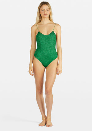 Lumiere Maillot One Piece Emerald Green