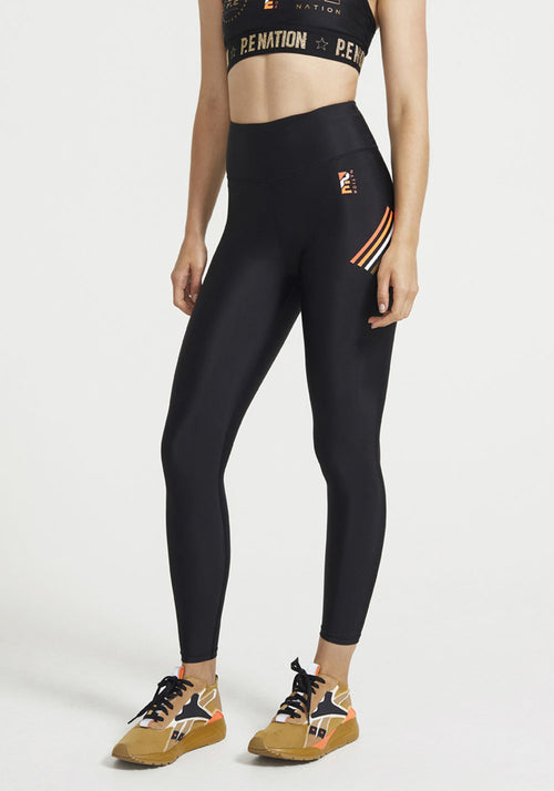 Arena Legging Black - P.E Nation - Tuchuzy