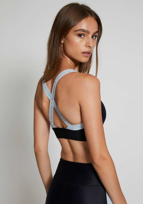 Bar Down Sports Bra Black
