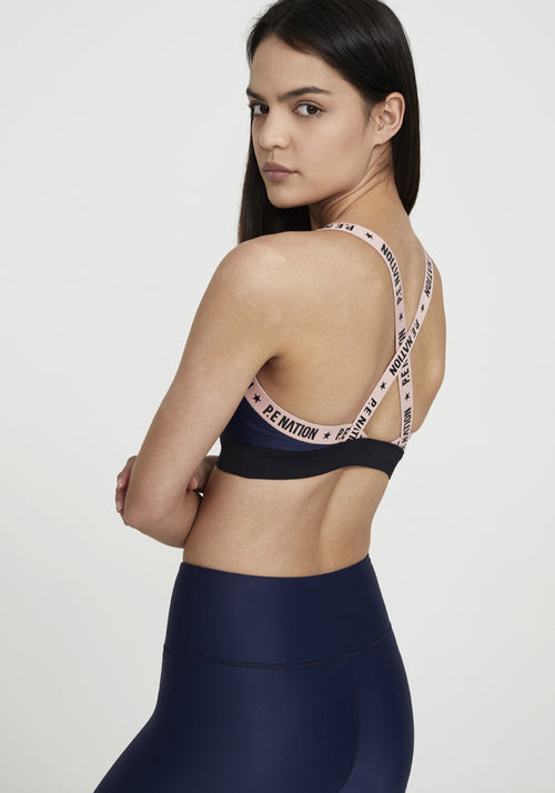 Flex It Sports Bra Navy