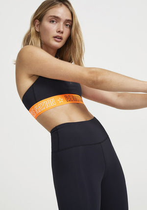Full Court Sports Bra Black