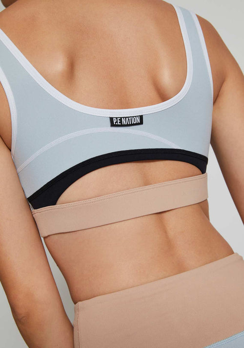 In Bounds Sports Bra Nude