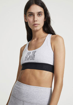 Master Point Sports Bra Grey