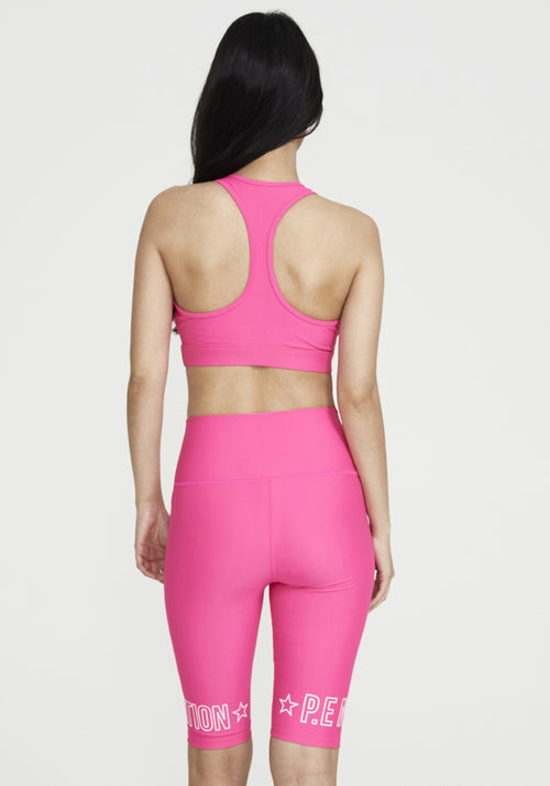 Swish Sports Bra Fluro Pink